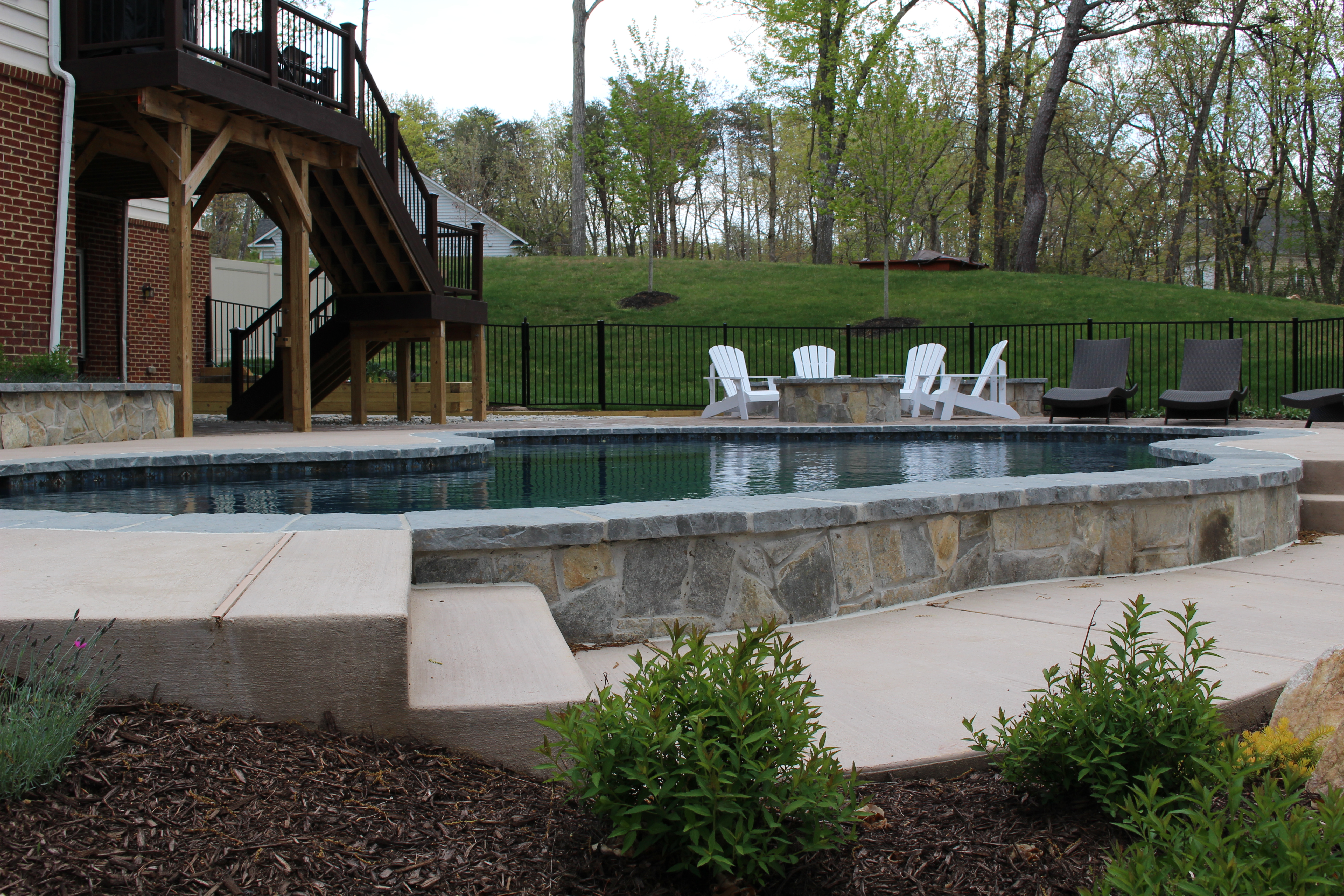 River Bend Swimming Pool The Pool Company Construction