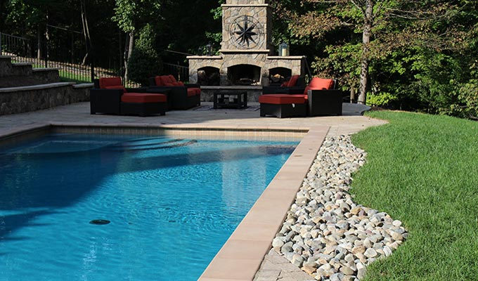Swimming pool designs in fauquier county the pool for Pool design virginia
