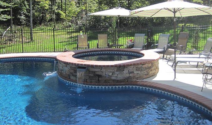 Custom pool design fredericksburg the pool company for Pool design virginia