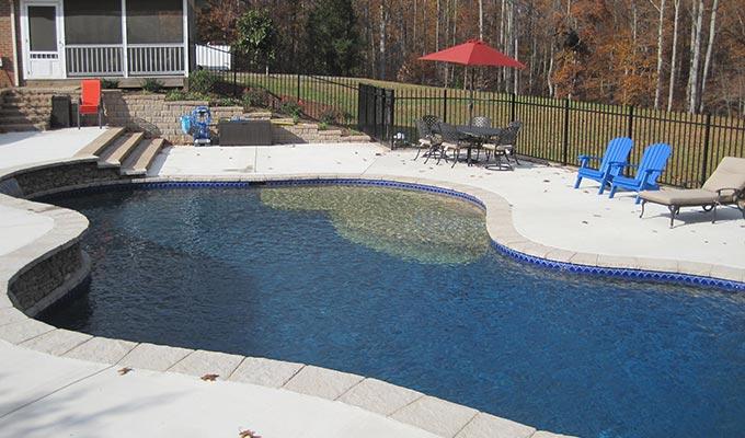 Custom Swimming Pool Designs In Loudoun County