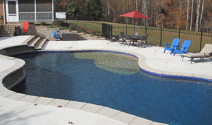 Custom Pool Design Prince William The Pool Company Construction