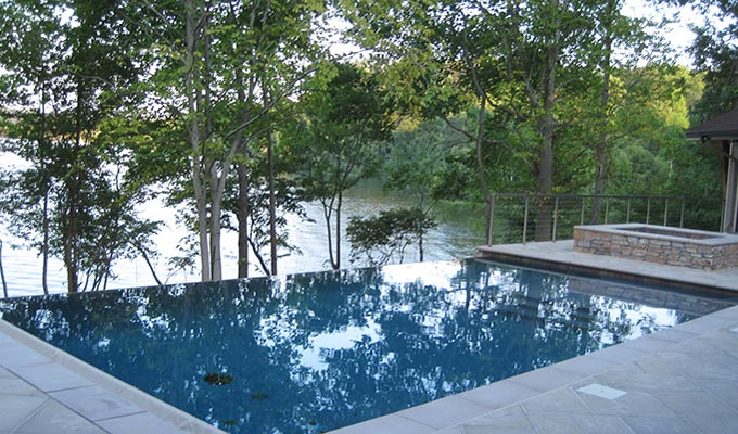 Spotsylvania custom swimming pool design
