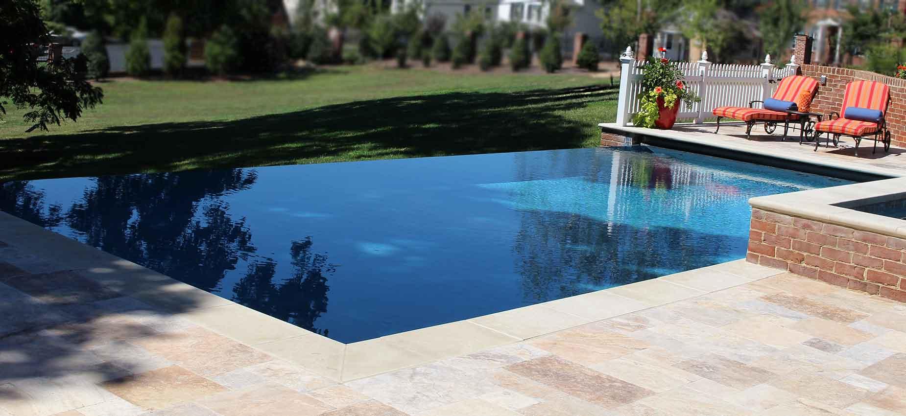 Inground swimming pool in Fredericksburg
