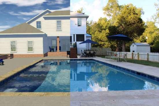 Pool Design Software Rendering