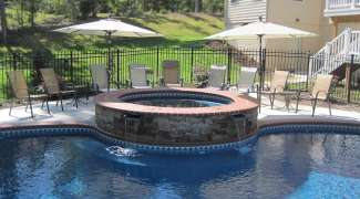 A Pool and Spa Renovation example